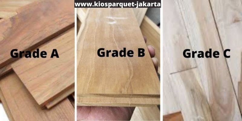 spesifikasi kayu jati berdasarkan kelasnya
