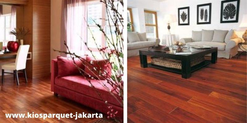lantai kayu merbau indoor
