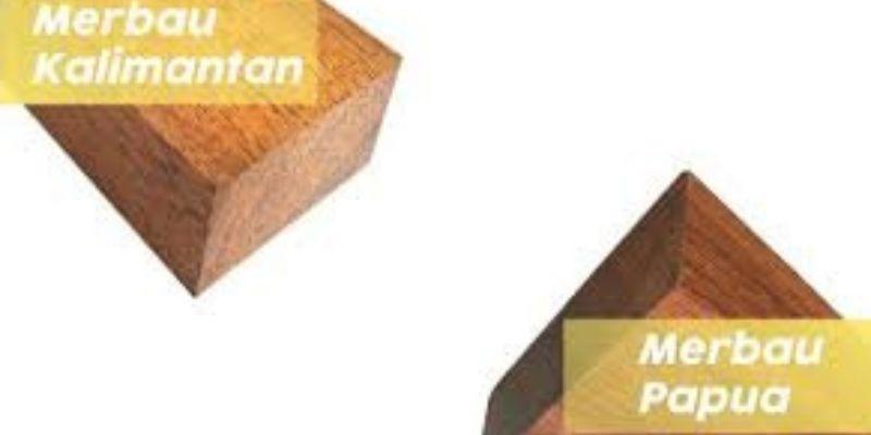 kayu merbau papua vs kalimantan