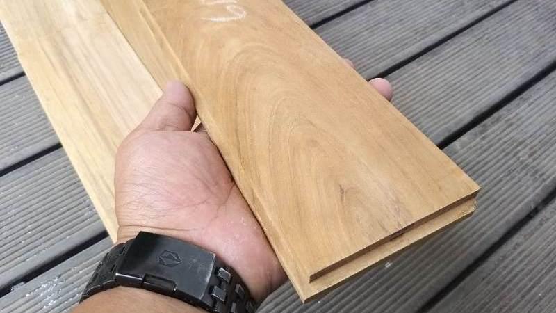 Flooring Kayu Jati Ukuran Standar Grade A