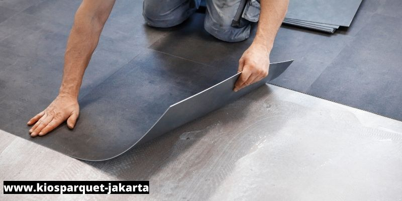 lantai vinyl mudah dipasang
