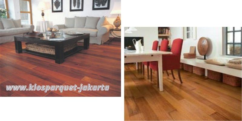 flooring merbau dapat menghadirkan nilai estetika tinggi