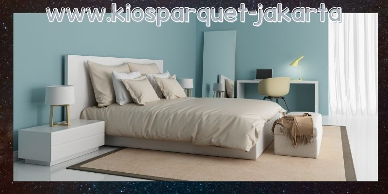lantai terbaik untuk kamar tidur - karpet