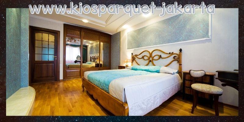 lantai terbaik untuk kamar tidur - parket merbau