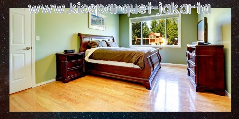 lantai terbaik untuk kamar tidur - lantai SPC
