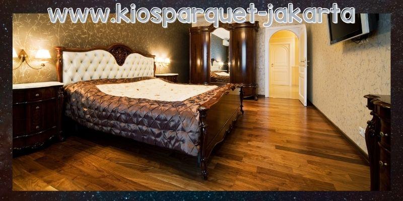 lantai terbaik untuk kamar tidur - lantai laminate