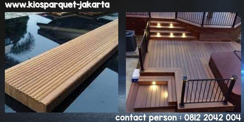 decking kayu keruing