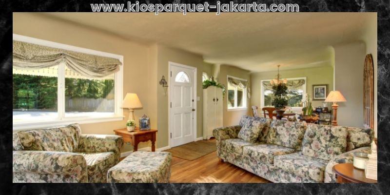 Tips Mendekorasi Rumah Minimalis- gunakan sofa floral