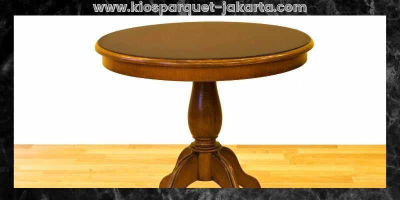 Tips Mendekorasi Rumah Minimalis- hadirkan meja bundar minimalis