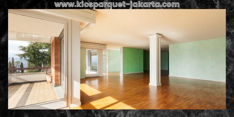 Tips Mendekorasi Rumah Minimalis- gunakan lantai kayu solid jati