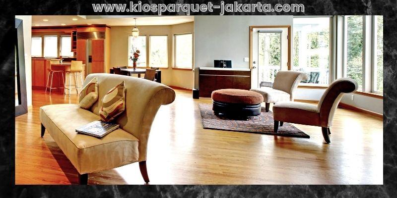 Tips Mendekorasi Rumah Minimalis- gunakan lantai laminate