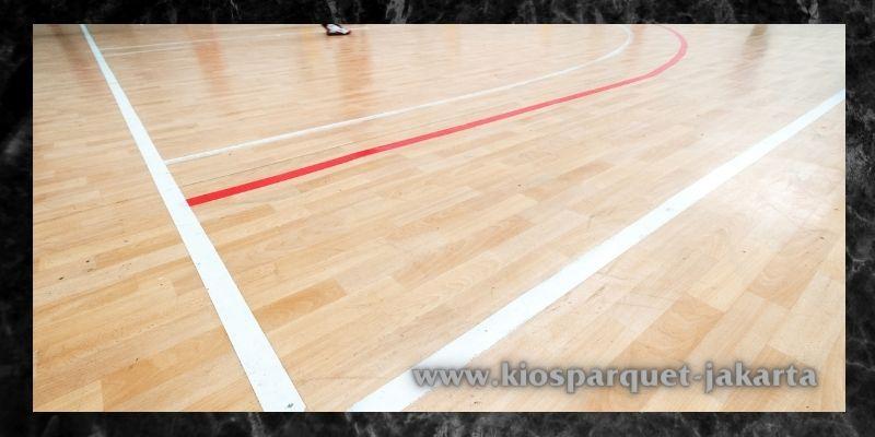 material terbaik untuk lapangan indoor - lantai spc