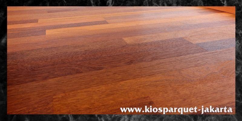 lantai untuk lapangan indoor - lantai kayu solid merbau