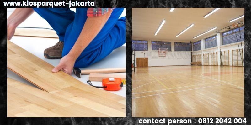 material lantai untuk lapangan basket - lantai spc