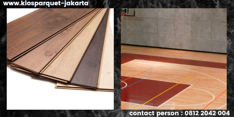 material lantai untuk lapangan basket - lantai laminate