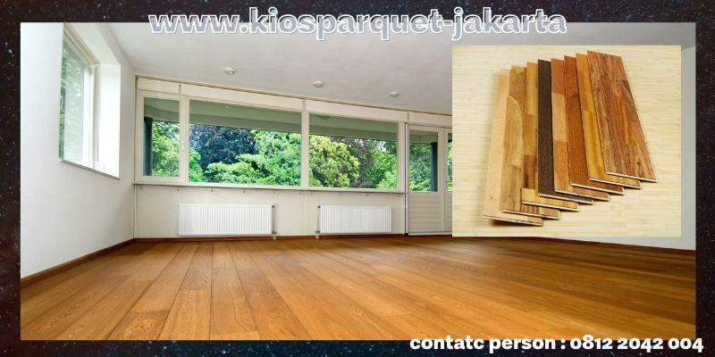 Jenis-jenis Lantai Kayu Tempel Terbaik - lantai laminated