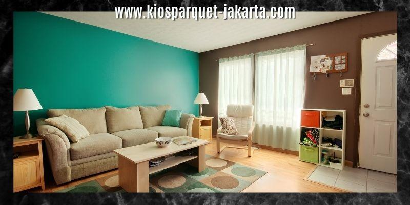 dekorasi ruang keluarga bergaya cozy & colorful
