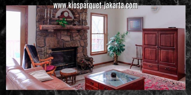 dekorasi ruang keluarga bergaya klasik