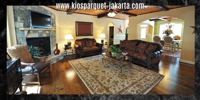 dekorasi ruang keluarga bernuansa hangat