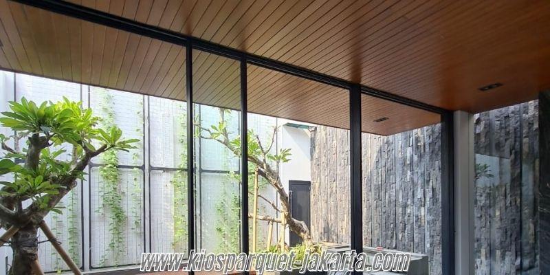 Tips & Trik Membangun Sebuah Villa- menggunakan plafon kayu