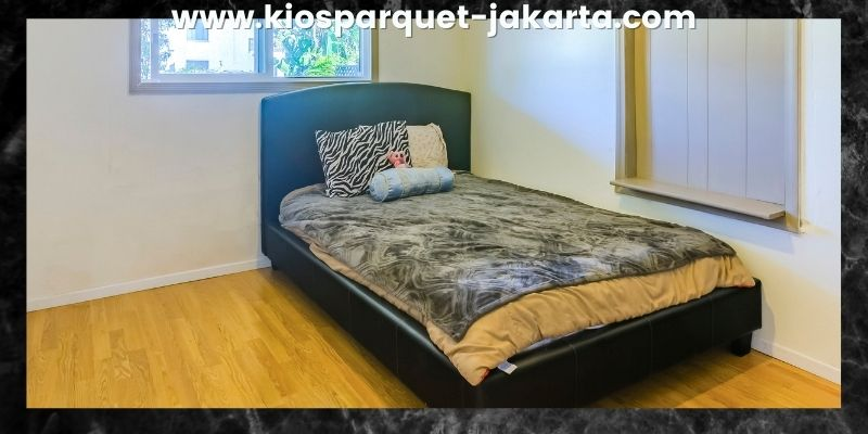 Tips Mendekorasi Kamar Tidur - gunakan lantai vinyl