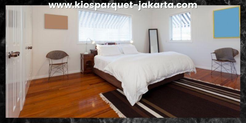 Tips Mendekorasi Kamar Tidur - gunakan lantai spc