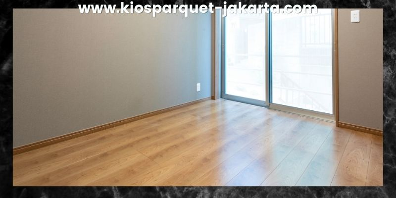 Tips Mendekorasi Kamar Tidur - gunakan lantai laminated