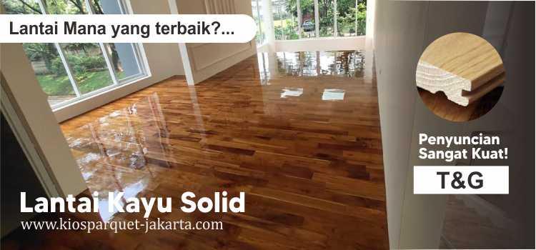 perbedaan lantai kayu